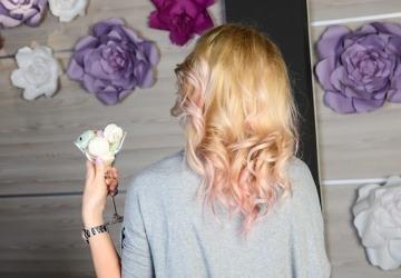 Розовые волосы для Anna Nosok от S&B BEAUTY STUDIO