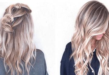 Окрашивание волос методом airtouch