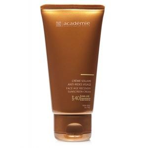 Солнцезащитный регенерирующий крем для лица SPF 40+