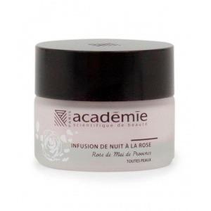 Ночной крем Academie с экстрактом прованской розы / Infusion de nuit a la rose