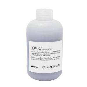 LOVE/ шампунь для разглаживания завитка