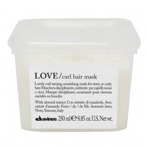 LOVE/ curl питательная маска для создания завитка
